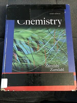 Chemistry by Susan A. Zumdahl and Steven S. Zumdahl (2013, Hardcover, 9th...