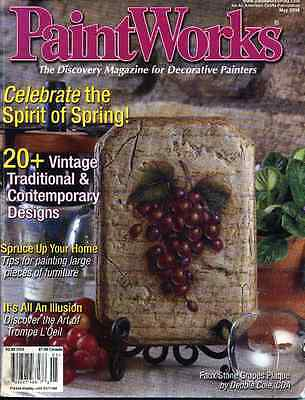 PAINTING MAGAZINE - PAINTWORKS - May 2004