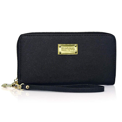 Blocking Women Leather Wallets to Organize Your Cash Passport Card Fashion NEW