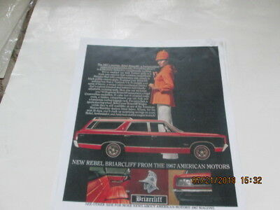 1967 AMC Rebel Briarcliff,  Westerner,  Mariner limited edition station wagons