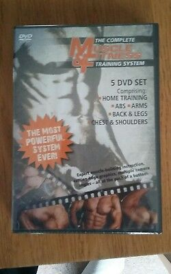 The Complete Muscle & Fitness Training System Dvd Set of 5 NEW