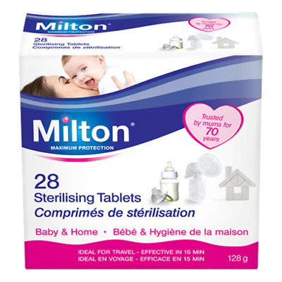 Milton Sterilising Tablets for Cold Water- Pack of 28