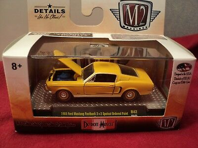 N4 M2 Machines 1968 Ford Mustang Fastback 2+2 200 Limited 5880 exp