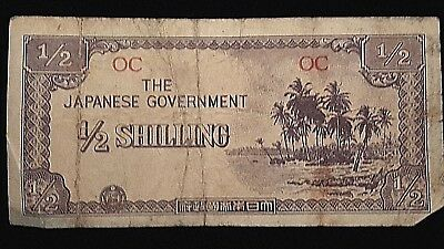 The Japanese Government 1/2 Shilling