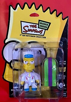 Bart Simpson Qee Keychain - DAREDEVIL BART - The Simpson Mania Series - Toy2r