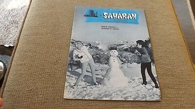 Saharan Magazine January 1965 Sahara Casino Las Vegas