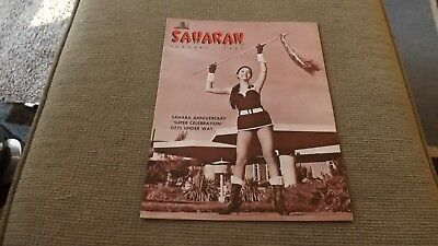 Saharan Magazine January 1967 Sahara Casino Las Vegas
