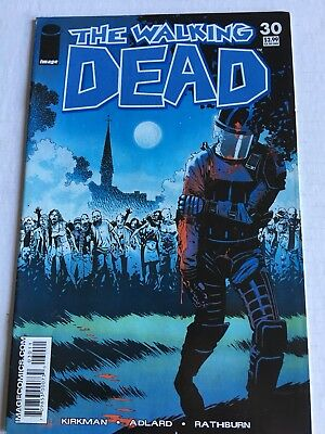 Walking Dead #30; Mid-Range Copy-Great Price; 8 Close-Up Pics; A Steal!