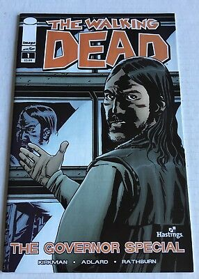The Walking Dead #1;The Governor Special; Hastings Variant; 8 HQ Photos; NM?