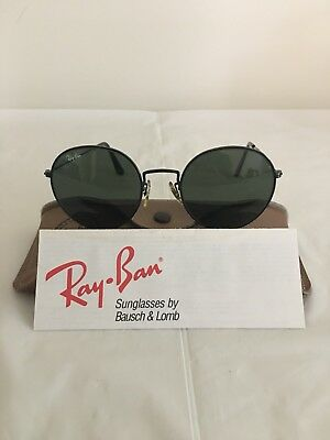 Vintage Ray-ban Sunglasses John Lennon style By Bausch & Lomb