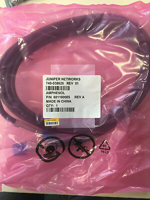 ** NEW ** Juniper networks QSFP+ to QSFP+ Cable , 5.0m QFX-QSFP-DAC-5M