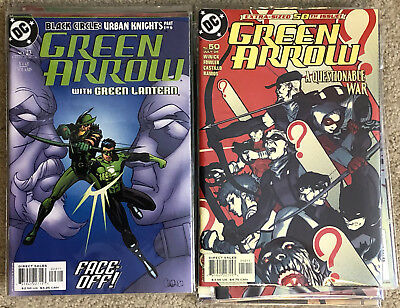 GREEN ARROW 23-50 Complete Lantern Titans Superman Batman Winick