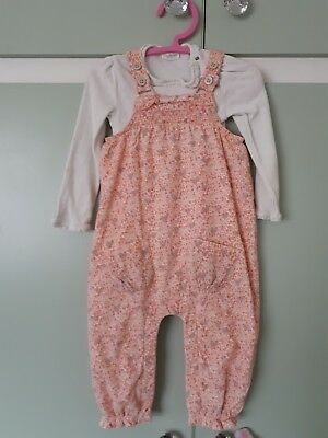Next Dungarees Bundle For Girl Aged 18-24 Months two complete outfits