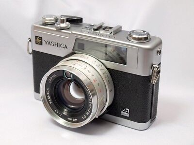 【Near MINT】Yashica Electro 35 GX 35mm Rangefinder Film Camera from Japan #680