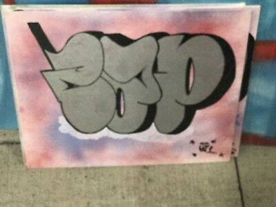 CAP Graffiti Art Original Painting Legendary
