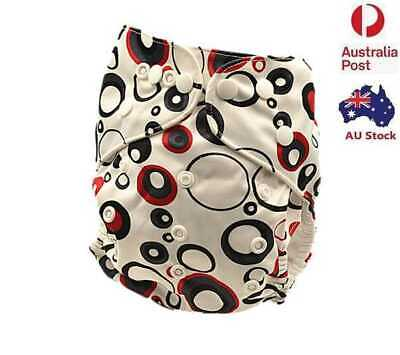 Modern Cloth Nappy MCN Reusable Adjustable Unisex Baby One Size Nappies (D220)