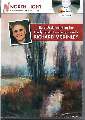 Richard McKinley Bold Underpainting for Lively Pastel Landscapes DVD 120 mins