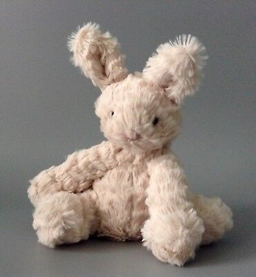 Jellycat Small Fuddlewuddle Beige Light Brown Bunny Rabbit Soft Cuddly Toy