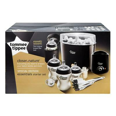 Tommee Tippee Closure to Nature Special Edition Essentials Starter Kit (Black)