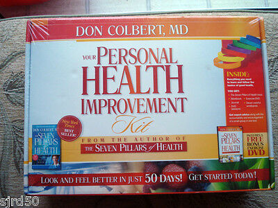 Seven Pillars of Health Diet Personal Health Improvement Kit Box Lose Weight New