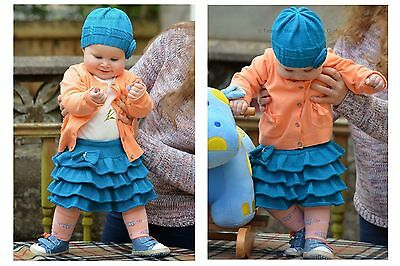 Knitting Pattern - Little Bell Skirt (Baby and Child sizes)