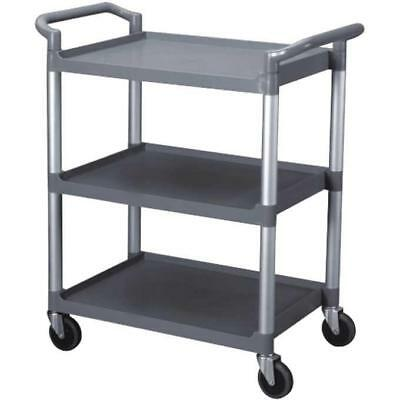 Restaurant Essentials Heavy Duty Utility Cart BLACK OR GRAY
