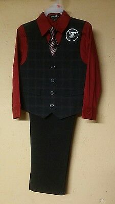 Boys George 4-Piece Holiday Suit Size 6 Nwt