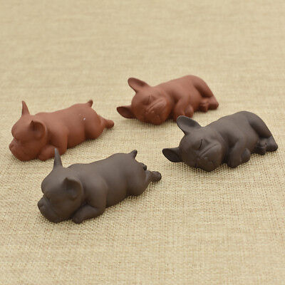 Cute Ceramic Ornament Dog Tea Pet of Chinese Kongfu Tea Ceremony Accessories