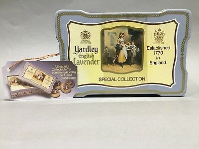 Yardley English Lavender Seife Gästeseife 6 x 30 gr. Special Collection