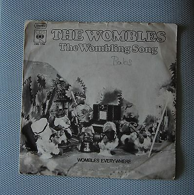"""The Wombles - The Wombling Song - Wombles Everywehre - Single - 7"""""""