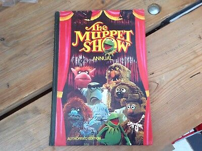 Vintage Original Jim Henson's The Muppets Tv Show Annual 1977 Kermit Fozzie Etc.
