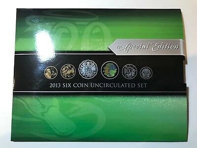 2013 Royal Australian Mint Uncirculated Set with Coloured Platypus 20c Coin