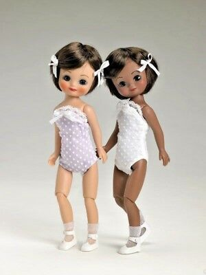 "PRECIOUS  8""Tiny Betsy Classic Dots Brunette Doll by Tonner Nrfb/Sold Out~VHTF!"