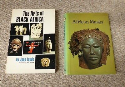 2 African Tribal Art Books: The Arts Of Black Africa Jean Laude & African Masks