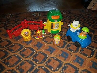 Lot little people fisher price