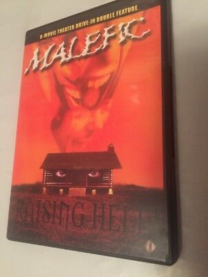 Malefic/Raising Hell: B-Movie Theatre Drive-In Double Feature(DVD)