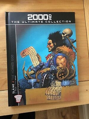 2000AD The Ultimate Collection Graphic Novel Slaine The Horned God No.32