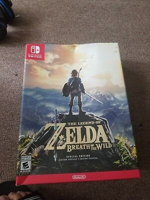 Legend of Zelda: Breath of the Wild - Special Edition (Nintendo Switch, 2017)