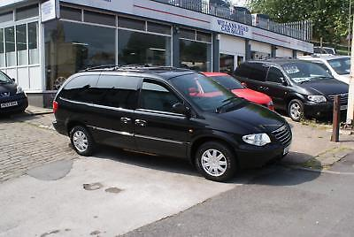 2006 56 Chrysler Grand Voyager 3.3 Limited Xs Automatic Black Petrol