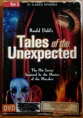 Tales Of The Unexpected: Set (3 DVD Set) 2005 - HTF - 21 EP - 525 MIN - VG Discs