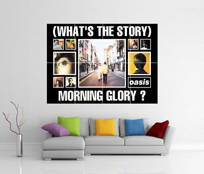 Oasis (Whats The Story) Morning Glory Giant Wall Art Print Poster