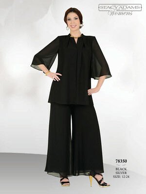 Mother of the Bride/Groom Pantsuit with Jacket for a Party, Social Occasion, 18
