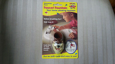 New Fountain Faucet Looney Tunes Tasmanian Devil in Package