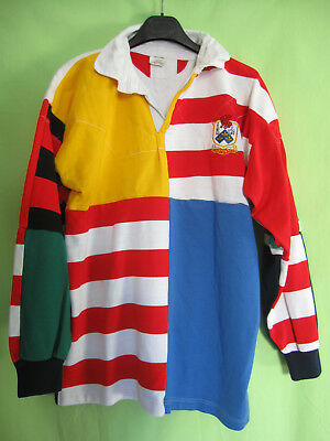 Maillot Taunton Rugby Football Club England Jersey Vintage Acrylique - XL