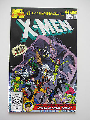Three different X-Men Annuals from 1989 and 1992