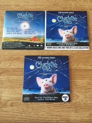 charlotte s web 1 2 3 audio book promo cd s free uk post