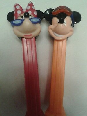 PEZ Disney Mickey Mouse und Minni Mouse extrem Dispenser
