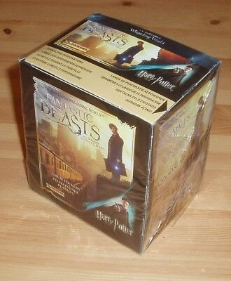 PANINI ANIMALI FANTASTICI ~ BOX SIGILLATO 50 bustine packets FANTASTIC BEASTS