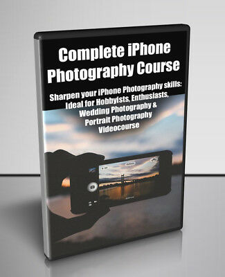 Complete iPhone Photography Course  - Video Course for Digital Download