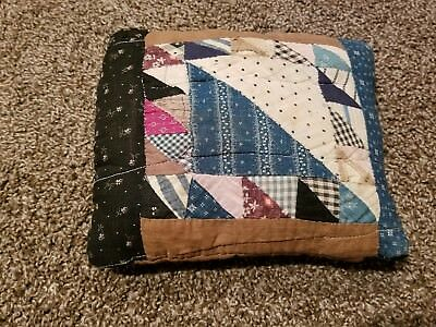 Antique Patchwork Pillow- 100+ Years Old